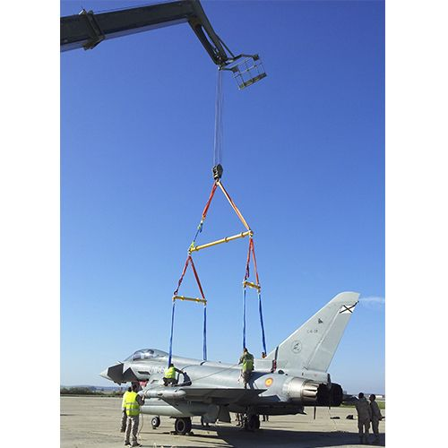 Sling hoist for Eurofighter